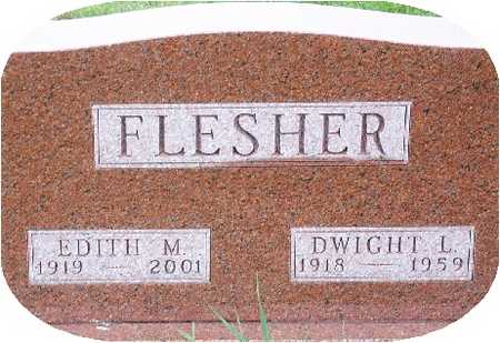 FLESHER, EDITH - Warren County, Iowa | EDITH FLESHER