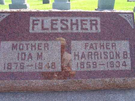 FLESHER, HARRISON B - Warren County, Iowa | HARRISON B FLESHER