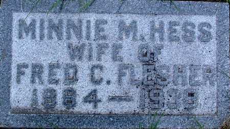 HESS FLESHER, MINNIE - Warren County, Iowa | MINNIE HESS FLESHER