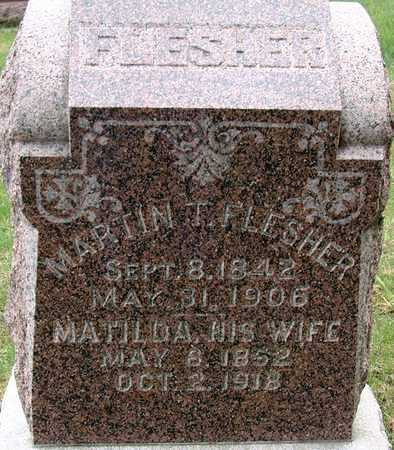 FLESHER, MATILDA - Warren County, Iowa | MATILDA FLESHER