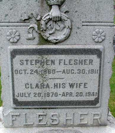 FLESHER, CLARA - Warren County, Iowa | CLARA FLESHER