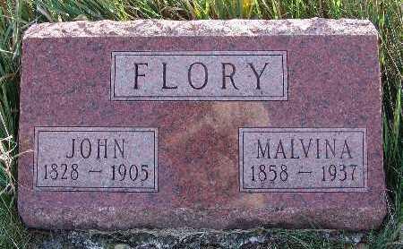 FLORY, MALVINA - Warren County, Iowa | MALVINA FLORY