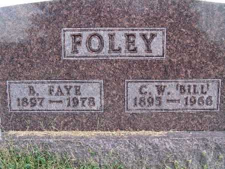 FOLEY, B. FAYE - Warren County, Iowa | B. FAYE FOLEY