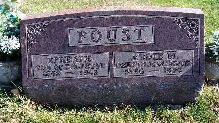 FOUST, ADDIE M. - Warren County, Iowa | ADDIE M. FOUST