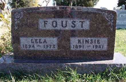GROVE FOUST, LELA - Warren County, Iowa | LELA GROVE FOUST