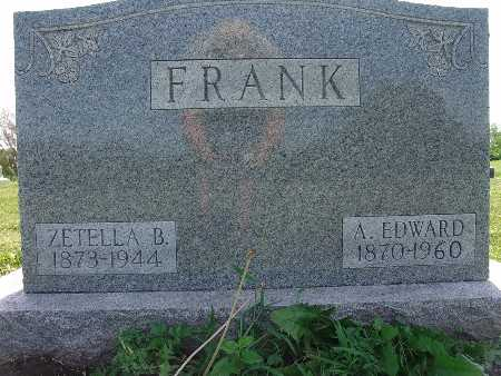 FRANK, ZETELLA B. - Warren County, Iowa | ZETELLA B. FRANK