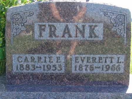 FRANK, EVERETT L - Warren County, Iowa | EVERETT L FRANK