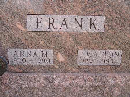 FRANK, J. WALTON - Warren County, Iowa | J. WALTON FRANK