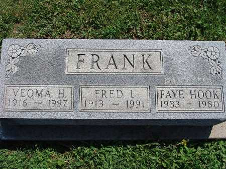 FRANK, FAYE HOOK - Warren County, Iowa | FAYE HOOK FRANK