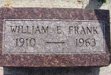 FRANK, WILLIAM E. - Warren County, Iowa | WILLIAM E. FRANK