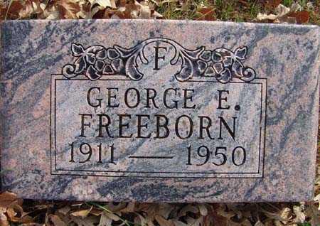 FREEBORN, GEORGE E. - Warren County, Iowa | GEORGE E. FREEBORN