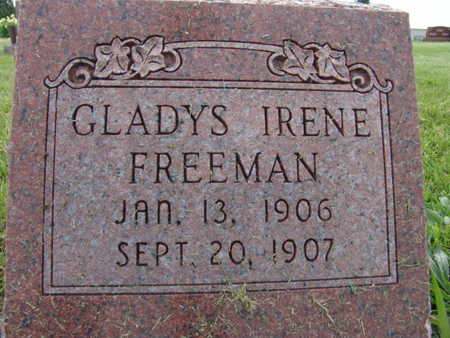 FREEMAN, GLADYS IRENE - Warren County, Iowa | GLADYS IRENE FREEMAN