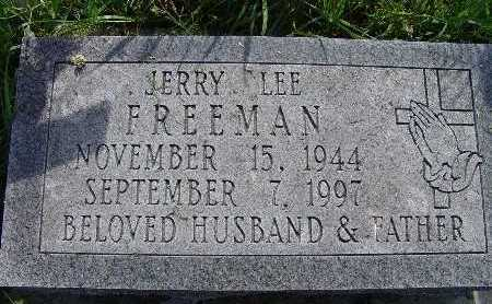 FREEMAN, JERRY LEE - Warren County, Iowa | JERRY LEE FREEMAN
