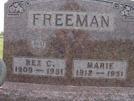 FREEMAN, MARIE - Warren County, Iowa | MARIE FREEMAN