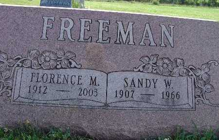 FREEMAN, SANDY W. - Warren County, Iowa | SANDY W. FREEMAN