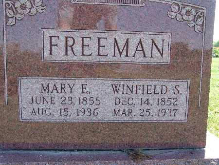 FREEMAN, WINFIELD S. - Warren County, Iowa | WINFIELD S. FREEMAN