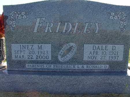 FRIDLEY, DALE D. - Warren County, Iowa | DALE D. FRIDLEY