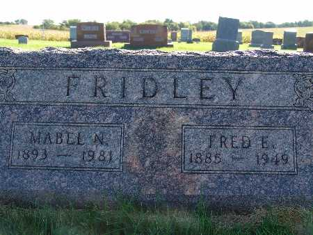 FRIDLEY, MABEL N. - Warren County, Iowa | MABEL N. FRIDLEY