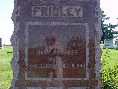 FRIDLEY, MARY J - Warren County, Iowa | MARY J FRIDLEY
