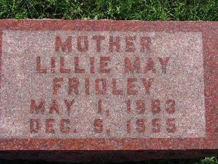 FRIDLEY, LILLIE MAY - Warren County, Iowa | LILLIE MAY FRIDLEY