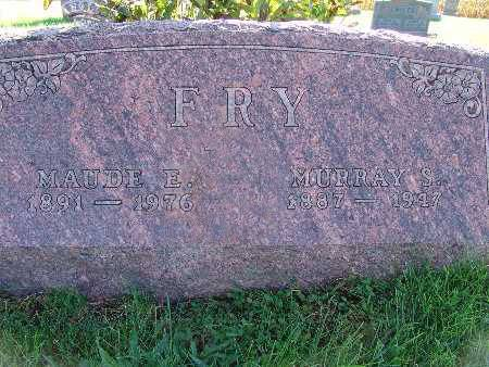 FRY, MAUDE E. - Warren County, Iowa | MAUDE E. FRY