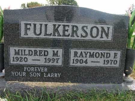 FULKERSON, MILDRED M. - Warren County, Iowa | MILDRED M. FULKERSON