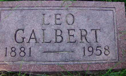 GALBERT, LEO - Warren County, Iowa | LEO GALBERT