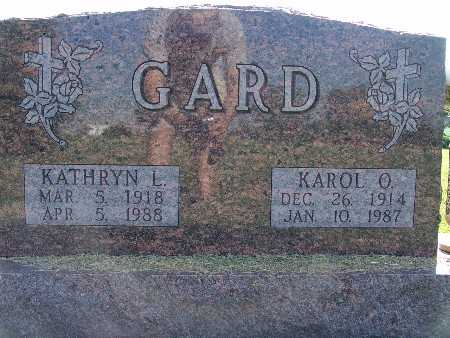 GARD, KATHRYN L. - Warren County, Iowa | KATHRYN L. GARD