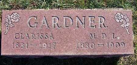GARDNER, M. D. L. - Warren County, Iowa | M. D. L. GARDNER