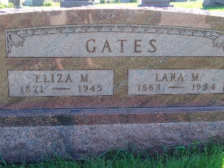 GATES, ELIZA M - Warren County, Iowa | ELIZA M GATES