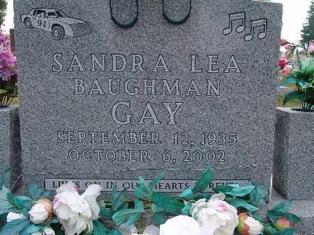 GAY, SANDRA LEA (BAUGHMAN) - Warren County, Iowa | SANDRA LEA (BAUGHMAN) GAY