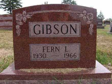 GIBSON, FERN L. - Warren County, Iowa | FERN L. GIBSON