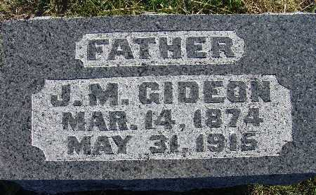 GIDEON, J. M. - Warren County, Iowa | J. M. GIDEON