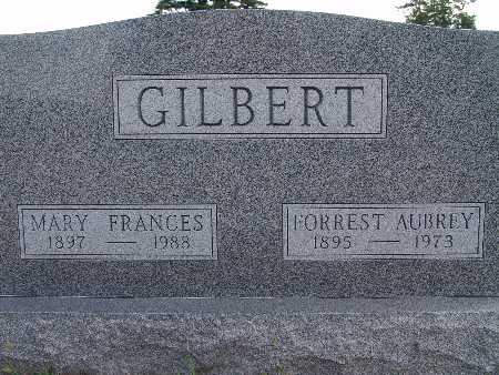 GILBERT, MARY FRANCES - Warren County, Iowa | MARY FRANCES GILBERT