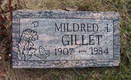GILLET, MILDRED I. - Warren County, Iowa | MILDRED I. GILLET