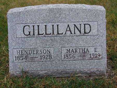 GILLILAND, MARTHA E. - Warren County, Iowa | MARTHA E. GILLILAND