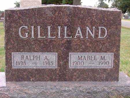 GILLILAND, MABEL M. - Warren County, Iowa | MABEL M. GILLILAND