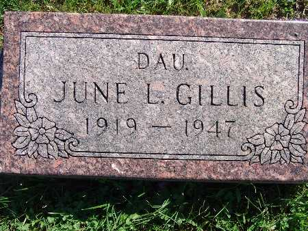 GILLIS, JUNE L - Warren County, Iowa | JUNE L GILLIS
