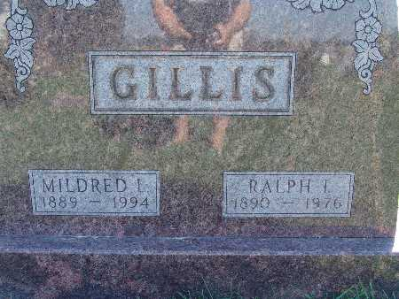 GILLIS, MILDRED L - Warren County, Iowa | MILDRED L GILLIS