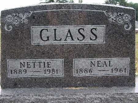 GLASS, NETTIE - Warren County, Iowa | NETTIE GLASS
