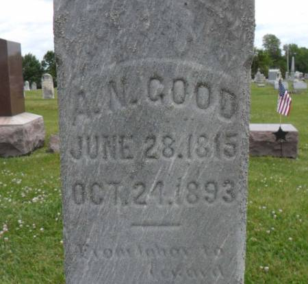GOOD, ABRAHAM N. - Warren County, Iowa | ABRAHAM N. GOOD
