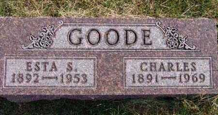 GOODE, ESTA S. - Warren County, Iowa | ESTA S. GOODE