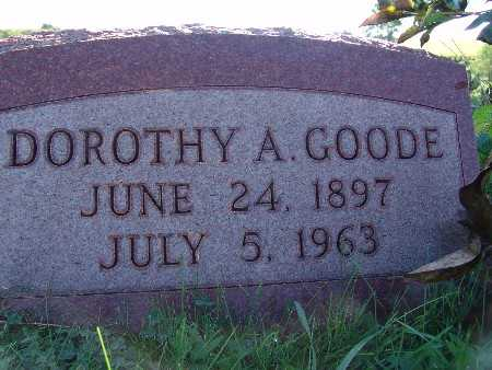 GOODE, DOROTHY A. - Warren County, Iowa | DOROTHY A. GOODE