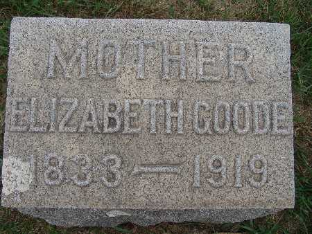 GOODE, ELIZABETH - Warren County, Iowa | ELIZABETH GOODE
