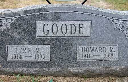 GOODE, HOWARD M. - Warren County, Iowa | HOWARD M. GOODE
