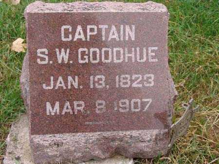 GOODHUE, CAPTAIN S. W. - Warren County, Iowa | CAPTAIN S. W. GOODHUE