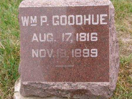 GOODHUE, WM. P. - Warren County, Iowa | WM. P. GOODHUE