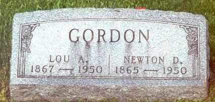 GORDON, LOU A. - Warren County, Iowa | LOU A. GORDON