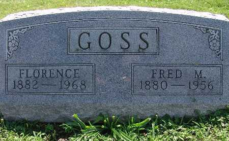 GOSS, FRED M. - Warren County, Iowa | FRED M. GOSS
