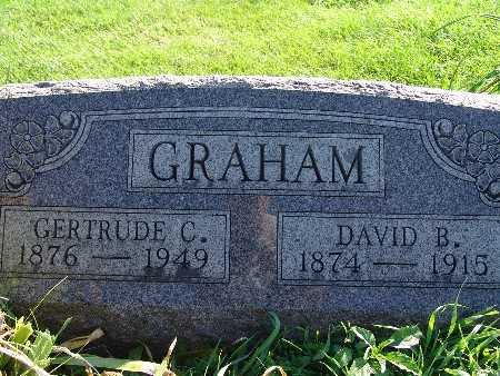 GRAHAM, GERTRUDE C - Warren County, Iowa | GERTRUDE C GRAHAM